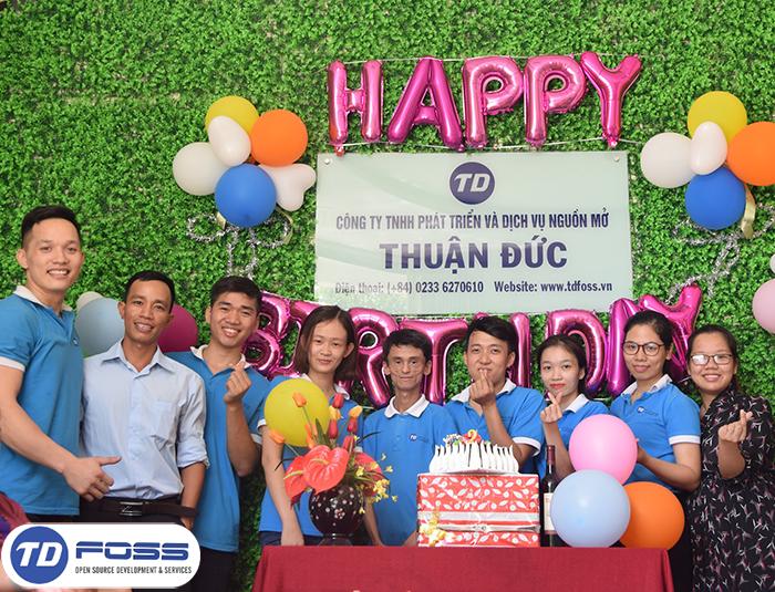 TDFOSS tưng bừng tổ chức sinh nhật 2 tuổi